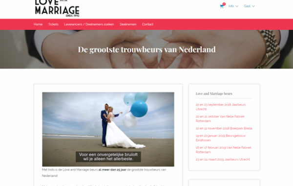Love & Mariage Beurs